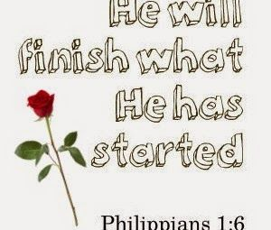 He Will Finish What He Started